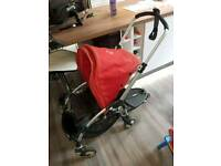 Bugaboo Bee pushchair and buggy board