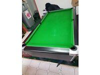 7ft supreme domesic pool table
