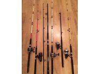 Job lot boat rods/reels