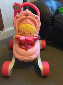 Fisher Price musical prom & dolls