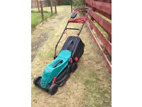 Bosch lawn mower. 2 years old