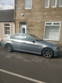 2005 BMW 330i, fantastic condition and in a rare colour, 99000 miles, black leather, service history