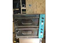 Pizza oven for takeaway hot food place