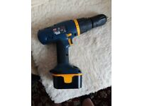 Ryobi CHI-1442P 14.4v Cordless Hammer Drill Brand new Battery. Excellent Condition.