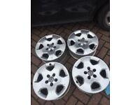 """Audi Vw alloy 15"""" alloy wheels"""