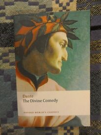 Dante - The Divine Comedy. Very good condition paperback. As new.