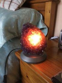 Amethyst Lamp