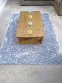 Duck Egg Blue Rug - REDUCED FOR QUICK SALE