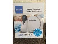 Brand new in box Binatine babysense 5. Baby breathing monitor £30