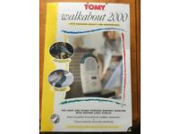 Tomy Walkabout 2000 baby monitor