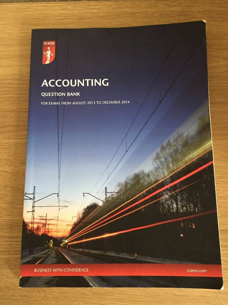 ICAEW books - ACA certificate level question banks