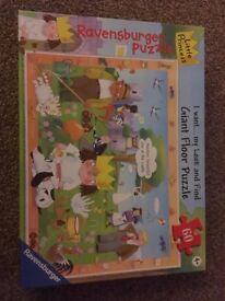 Little Princess Ravensburger Giant Floor Puzzle £8