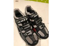 Scott cycle road shoes brand new never used. Uk 8 EU 42