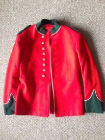 """Military Jacket, master of ceremonies type, chest 38"""", good condition"""