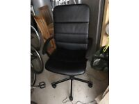 Swivel chair for desk, purchased in ikea, excellent condition, £19.
