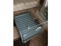 Indoor/Outdoor collapsable cage and run for small animals - QUICK SALE