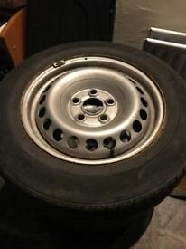 VW T5 wheels full set of 16 inch (5x120)