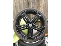 "Vw golf taladega style 19"" alloys tyres"