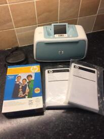HP Photosmart A526 Colour Photo Printer + 3 Packs Of HP Advanced Photo Paper Included