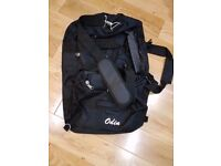 Large black Odin holdall Bag