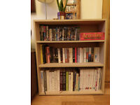 Wooden bookcase, excellent condition, 3 shelves, IKEA, ideal for living room or bedroom