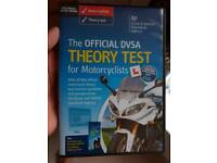 OFFICIAL DVLA THEORY TEST DVD/ HAZARD PERCEPTION FOR MOTORCYCLISTS
