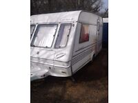 2 birth caravan with movers