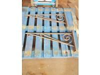 Bespoke Metal Flower Basket Hangers