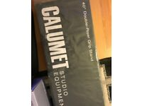 """calumet c-stand 40"""" chrome for sale  Motherwell, North Lanarkshire"""