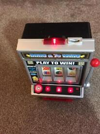 "SMALL FRUIT MACHINE FOR SALE 18"" HIGH"