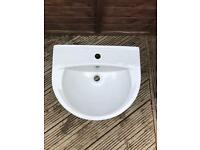 Bathroom Sink basin and pedestal