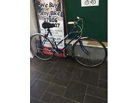 """BSA Hybrid Blue Female bike 23"""" Inch"""