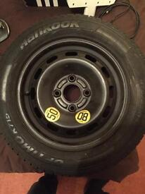 Ford spare wheel