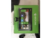 Xbox one with box and one pad