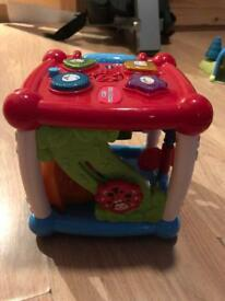 VTech Turn and Learn activity cube