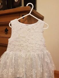Girls Party Dress- TU – Age4-5 – Excellent condition - £5