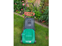 Qualcast electric mower 12 inch cylinder