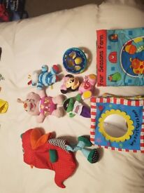 Large Selection of baby toys