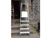 Step ladders x 2 heavy duty platform type