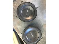 Vibe coaxial speakers
