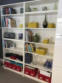 Billy Bookshelves x 2