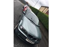 04 reg BMW 318i 2L for sale.12 month MOT & all usual BMW features.£579.