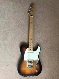 Fender Mexican Telecaster Sunburst and Gig Bag