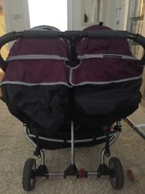 Double mini city jogger pushchair
