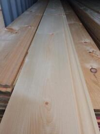"New timber 9""x 16 ft skirting board"