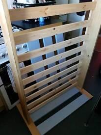 Pine single bed (like new)