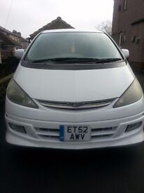 Cheap White Toyota Estima for sale (ONO)