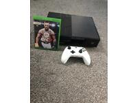 Xbox One 500GB, white controller and game included
