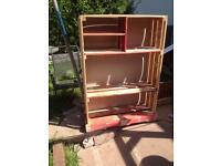 Hand made book shelfs