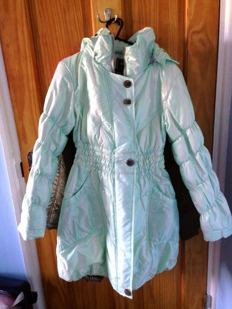 Mint Green Coat Jacket for sale ,Warm and cosyin Barnet, LondonGumtree - Mint Green Coat Jacket for sale warm and cosy warm & cosy mint green Size 165/88A /M
